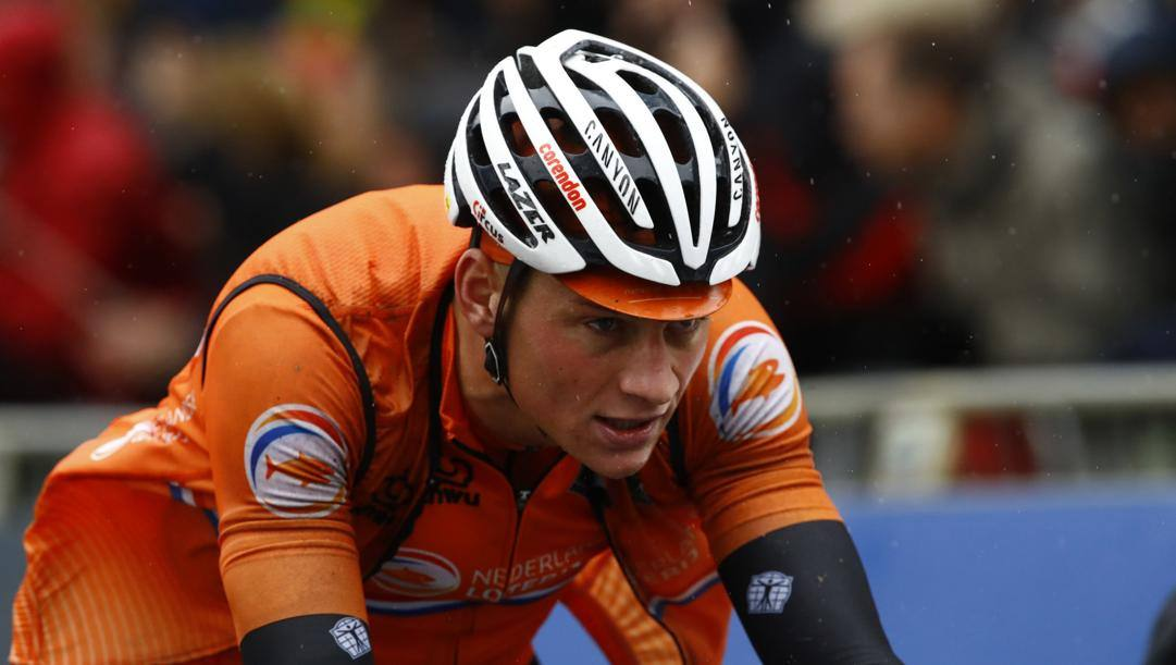Mathieu Van der Poel, 25 anni. Bettini