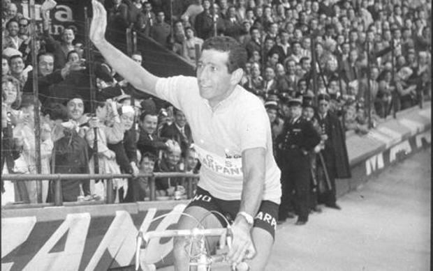 Gastone Nencini 60 anni fa al Tour. Presse Sports