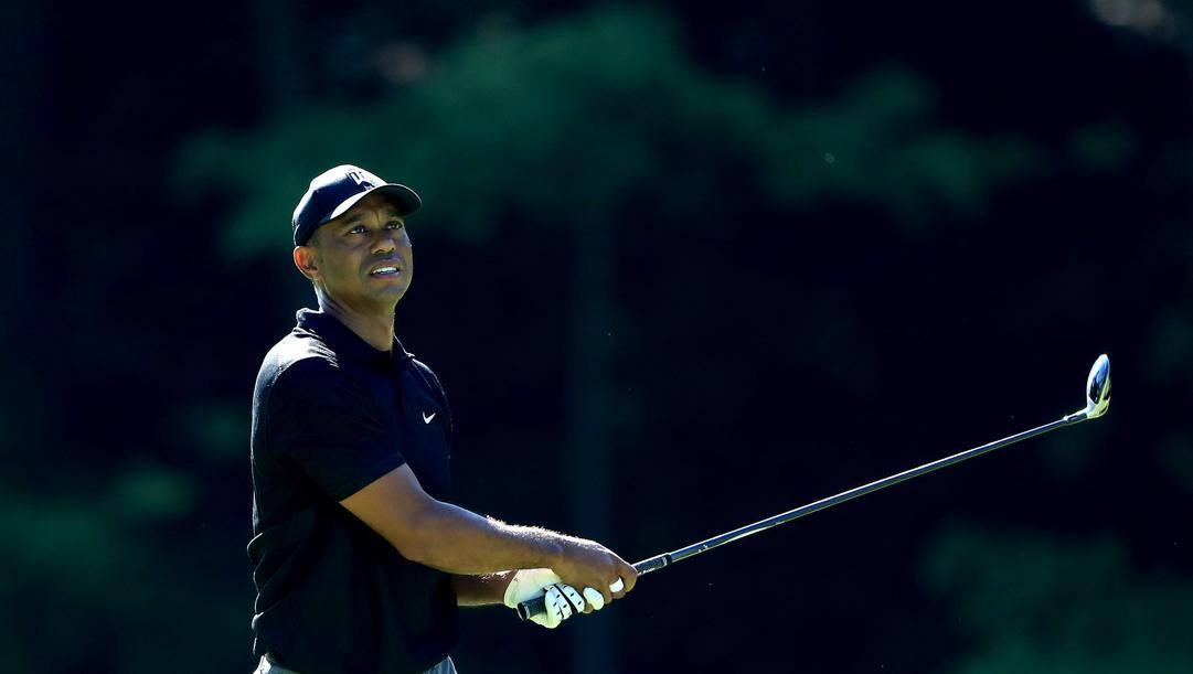 Tiger Woods, 44 anni. Afp