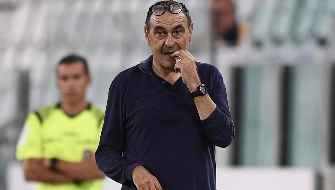Maurizio Sarri, 61 anni. LaPresse