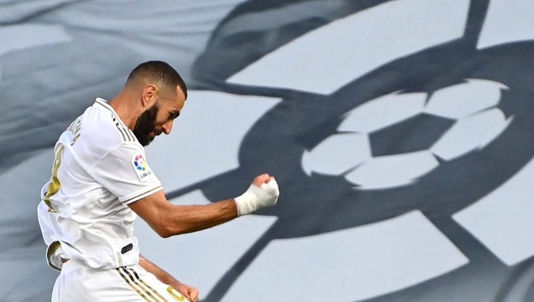 Karim Benzema AFP