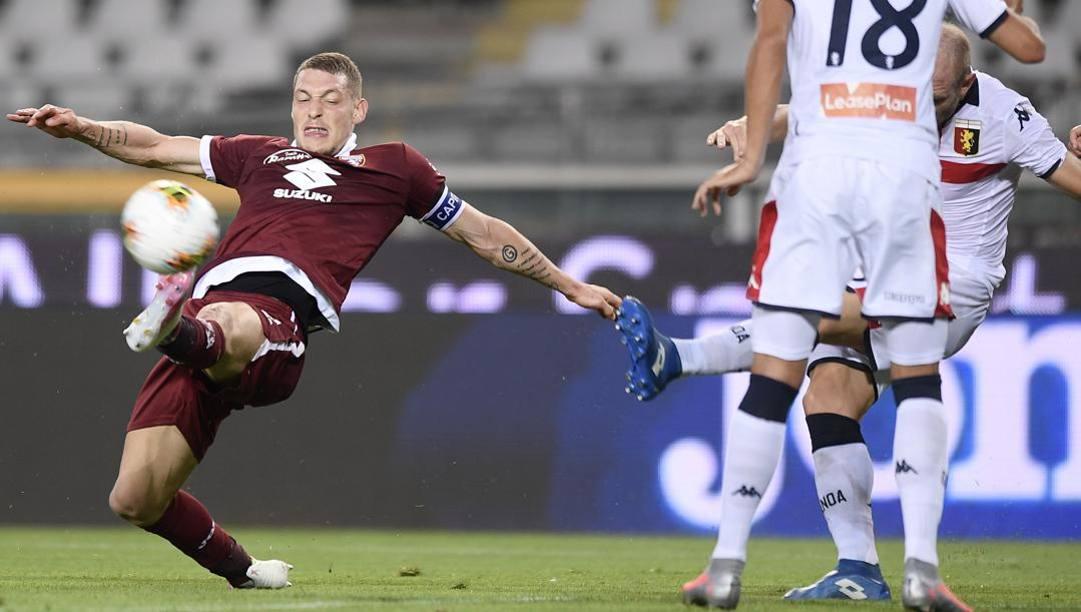Andrea Belotti, 26 anni, centravanti del Torino. Lapresse