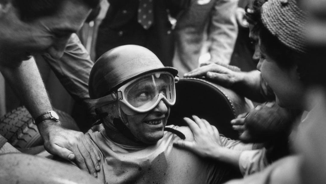 Juan Manuel Fangio. Getty