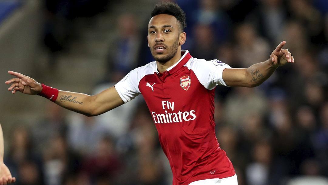 Pierre-Emerick Aubameyang, 31 anni, in maglia Arsenal. Ap