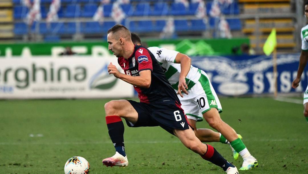 Marko Rog, 24 anni, croato del Cagliari. Lapresse