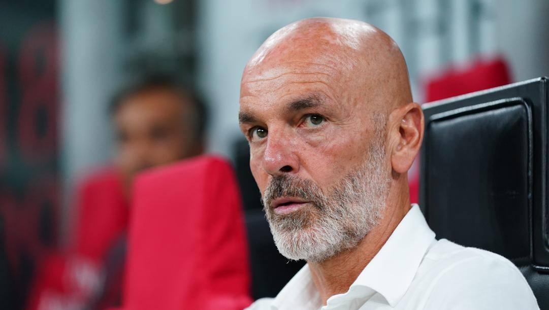 Stefano Pioli, dal 9 ottobre 2019 tecnico del Milan. LaPresse