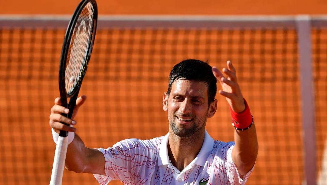 Il numero 1 al mondo Novak Djokovic. Afp