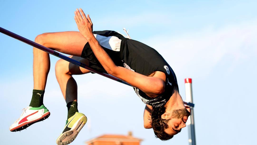 Gianmarco Tamberi, 28 anni. Colombo
