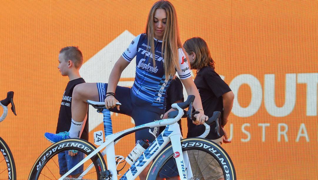Letizia corre nella Trek-Segafredo. Bettini
