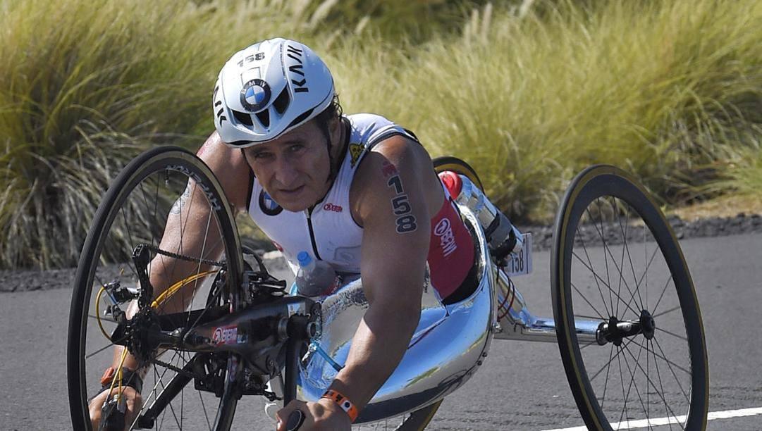 Alex Zanardi, 53 anni. Ap
