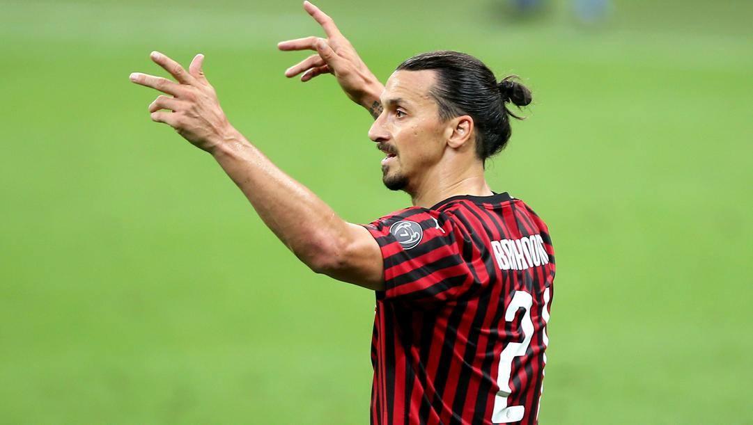 Zlatan Ibrahimovic, 38 anni. Kulta