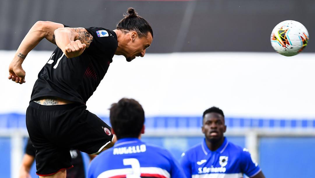 Zlatan Ibrahimovic, 38 anni, Getty