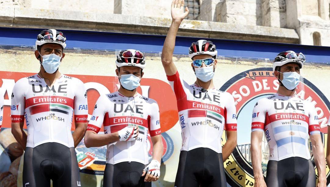 La squadra a Burgos