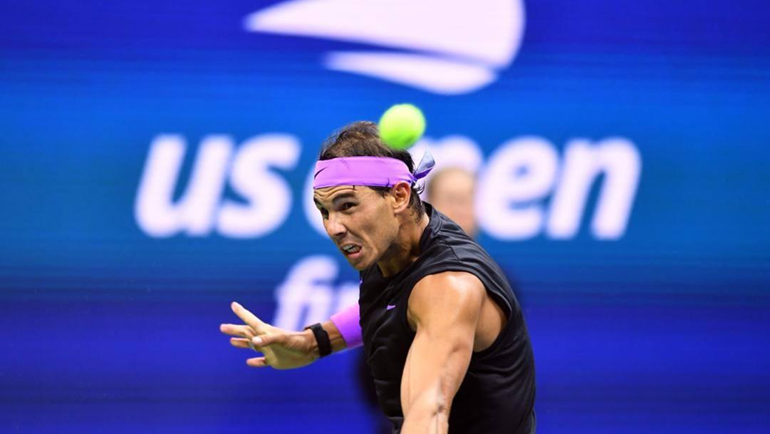 Rafael Nadal, 34 anni. Afp
