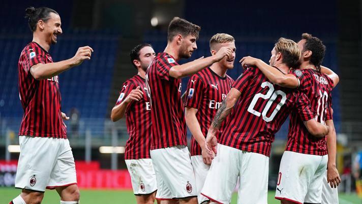 Nel Milan del post lockdown hanno segnato in dodici. Lapresse