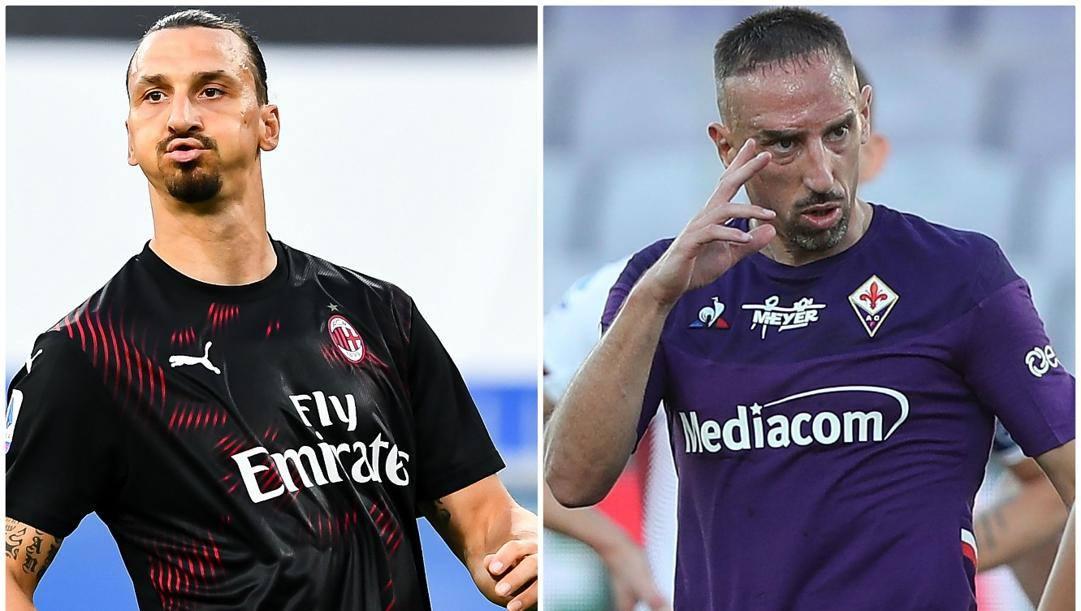 Ibrahimovic e Ribery.