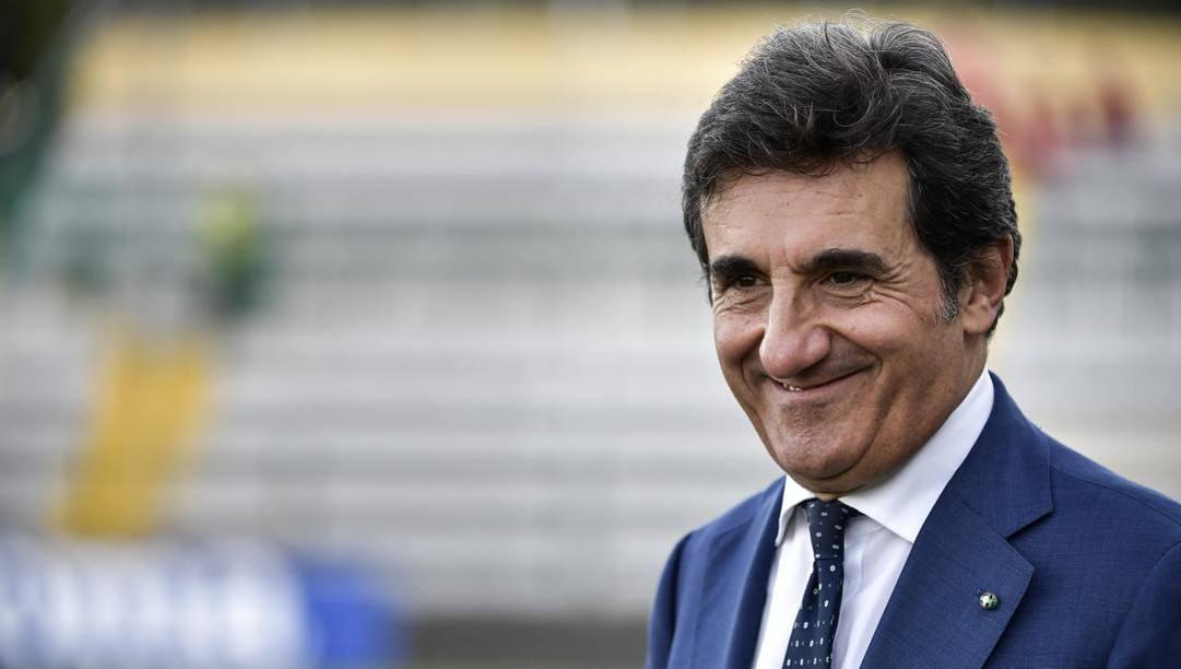 Il presidente del Torino, Urbano Cairo. Lapresse
