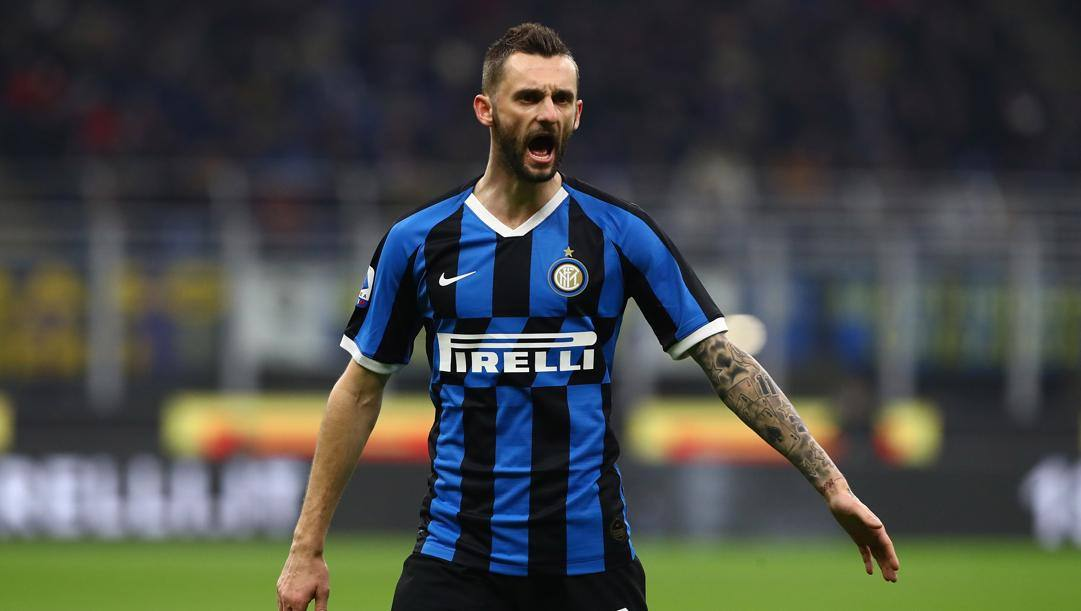 Marcelo Brozovic, 27 anni, croato dell'Inter. Getty