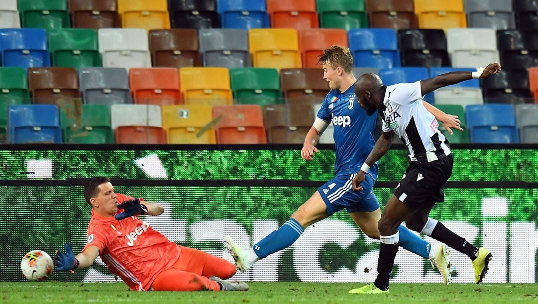 Il gol di Seko Fofana contro la Juventus. Getty