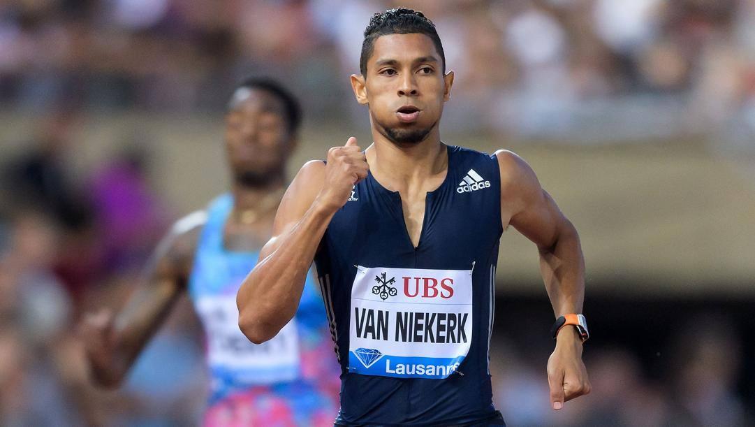 Wayde Van Niekerk, 28 anni. Afp