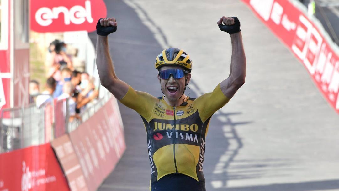Strade Bianche 2020: vince Van Aert
