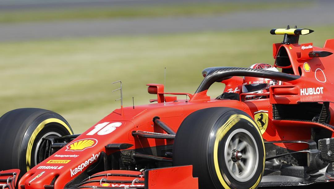 La Ferrari di Charles Leclerc. Getty
