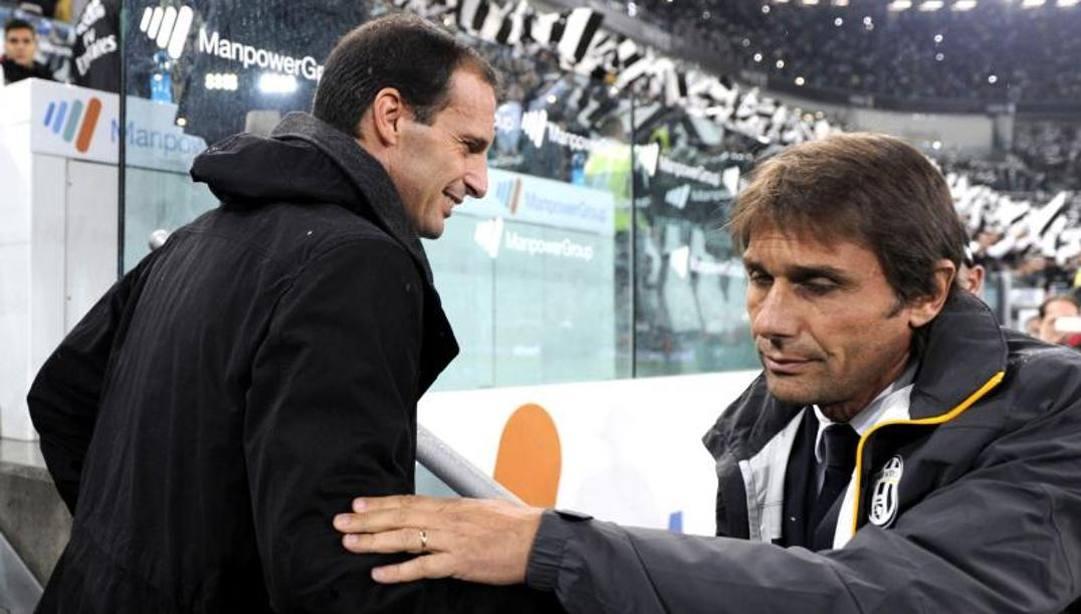 Max Allegri e Antonio Conte: avvicendamento in vista sulla panchina dell'Inter?