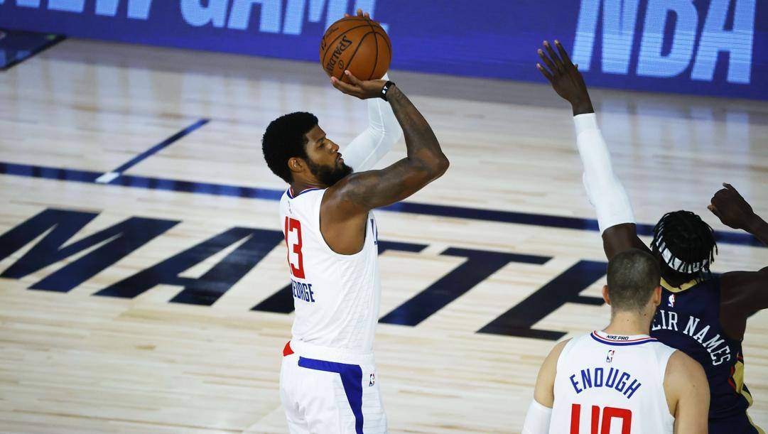Paul George,30 anni, ala dei Clippers AFP