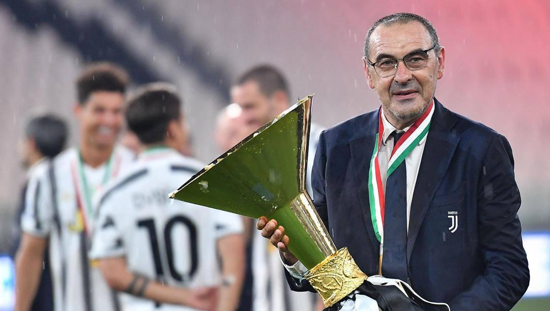 Maurizio Sarri, 61 anni. Ansa