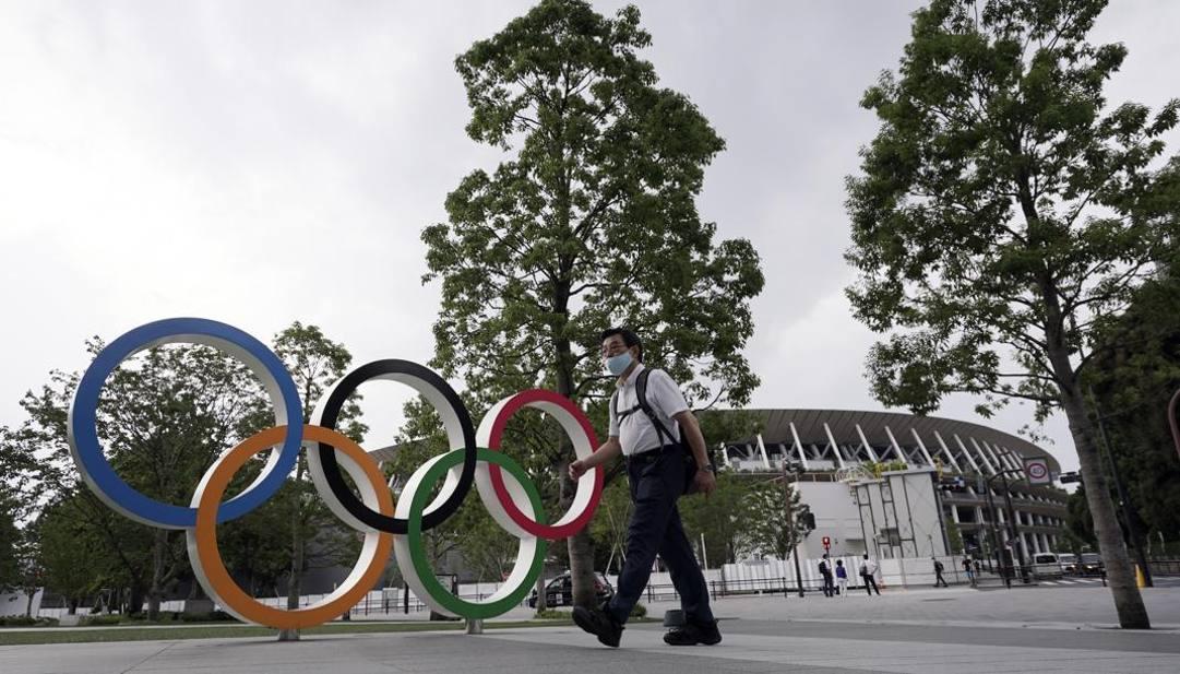 Lo Stadio Olimpico di Tokyo ai tempi del coronavirus