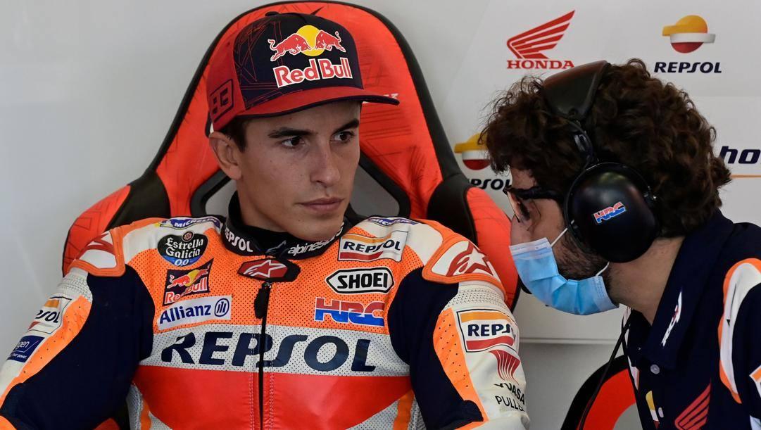 Marc Marquez, 27 anni. Afp