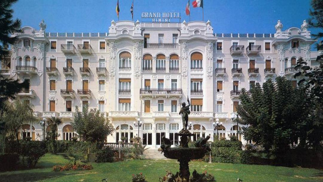 Il Grand Hotel di Rimini.