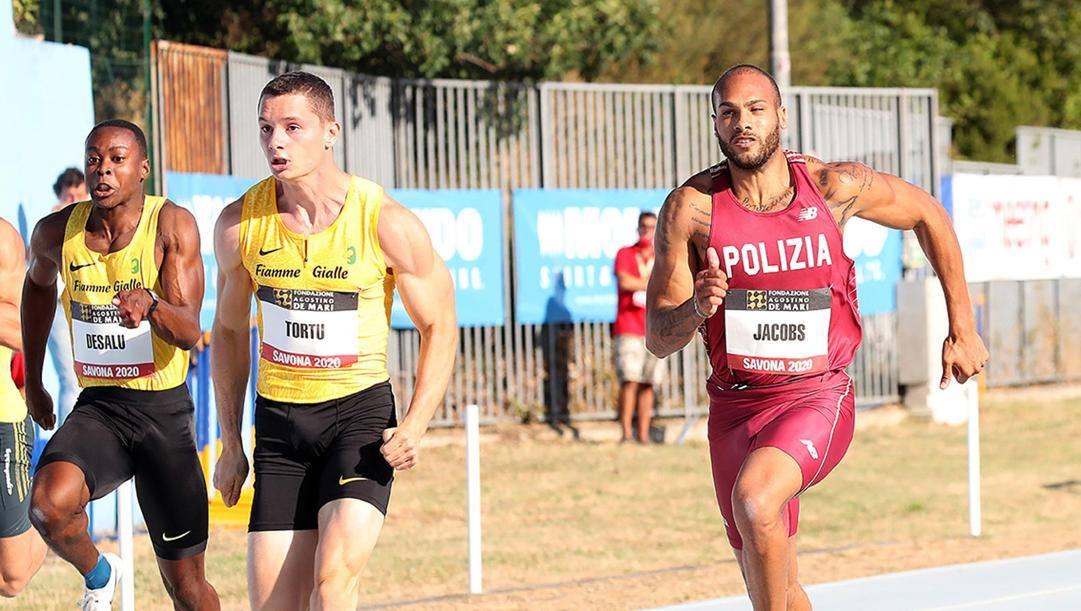 Filippo Tortu e Fausto Desalu