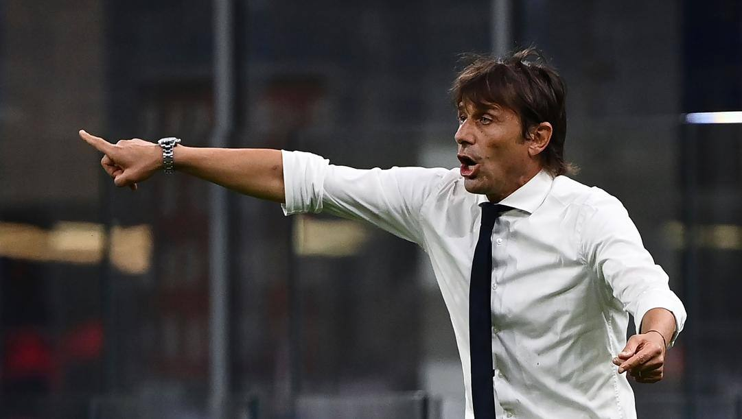 Antonio Conte, 51 anni, tecnico dell'Inter. Afp