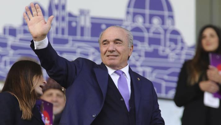 Il presidente Rocco Commisso. Lapresse