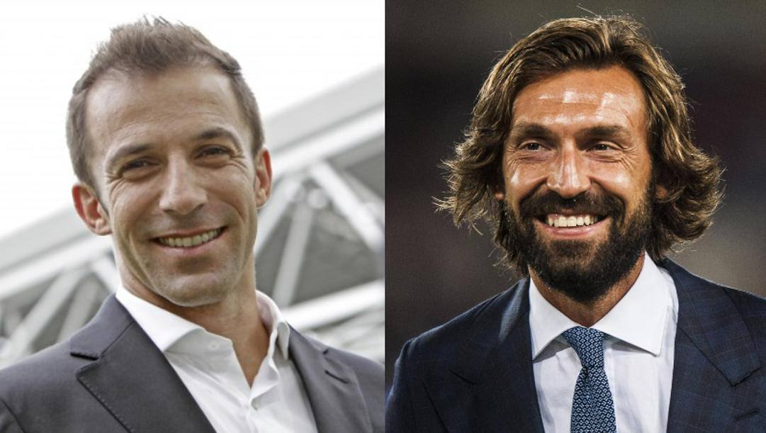 Del Piero e Pirlo