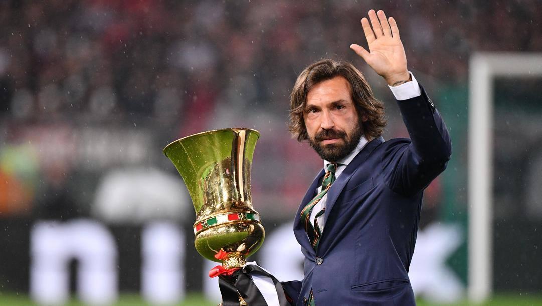 Andrea Pirlo, 41 ann, guiderà la Juventus in cui ha giocato quattro stagioni. Lapresse