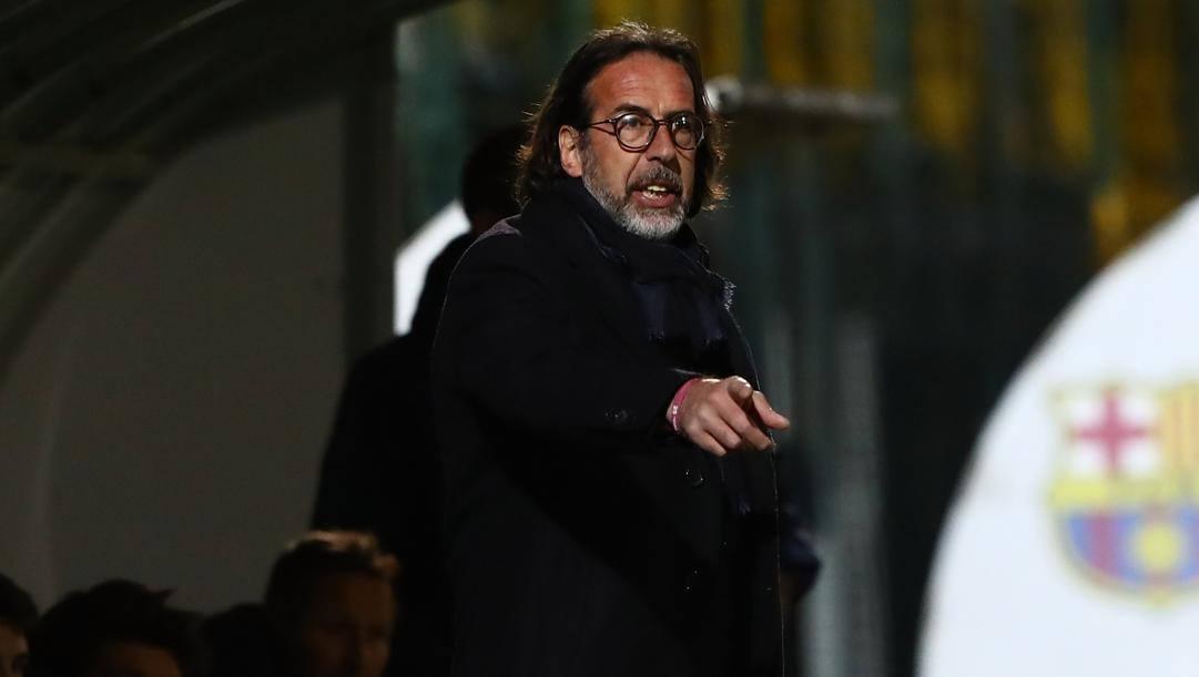 Armando Madonna, tecnico dell'Inter Primavera. Getty