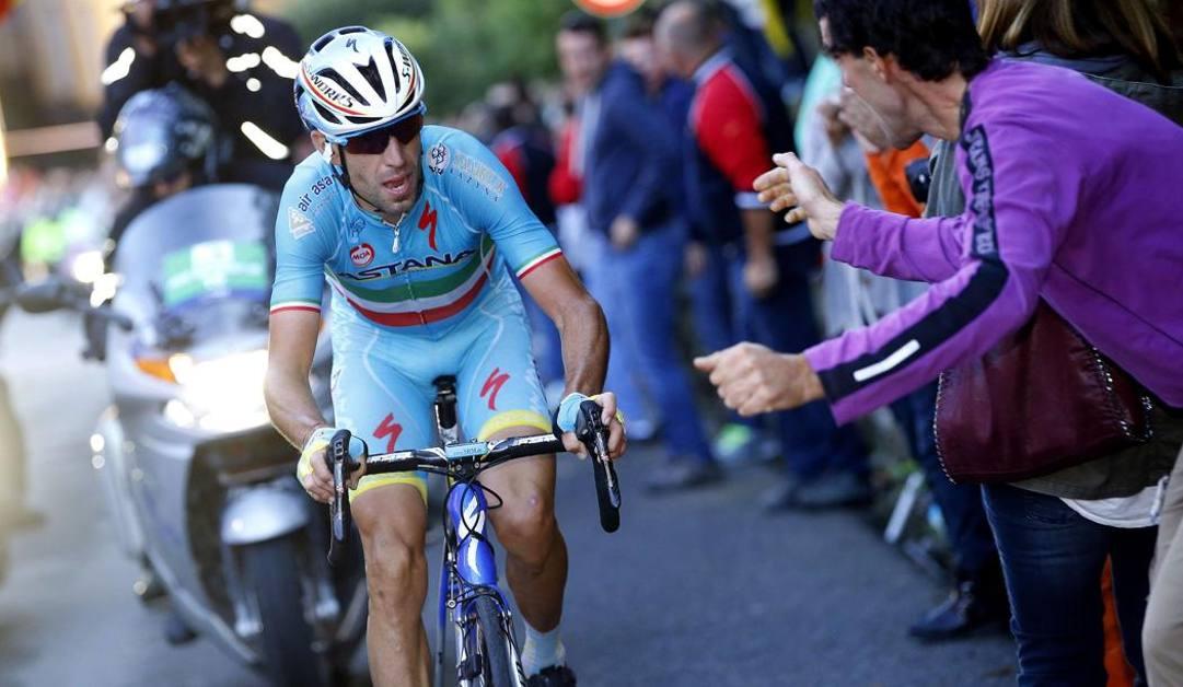 Vincenzo Nibali al Giro di Lombardia 2015 (Afp)