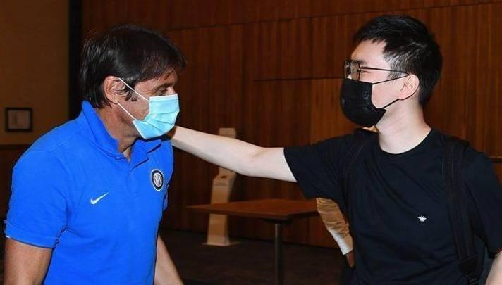 Antonio Conte, 51 anni, e Steven Zhang, 29