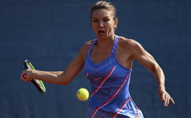La romena Simona Halep. Getty