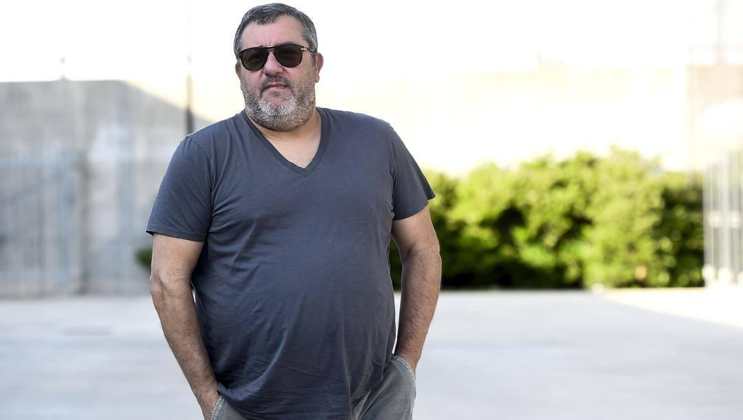 "Carmine ""Mino"" Raiola, 52 anni. Lapresse"