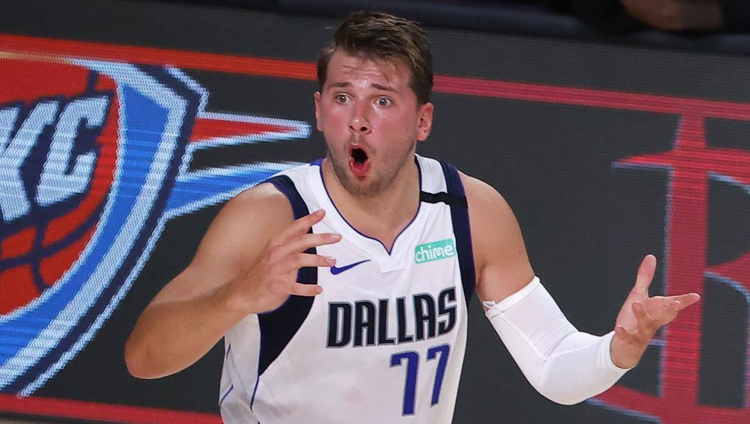 Luka Doncic, 21 anni, seconda stagione con Dallas. LaPresse