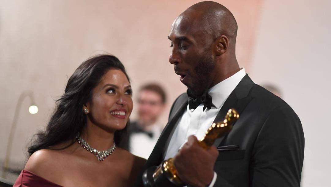Vanessa e Kobe Bryant erano sposati dal 2003. Afp
