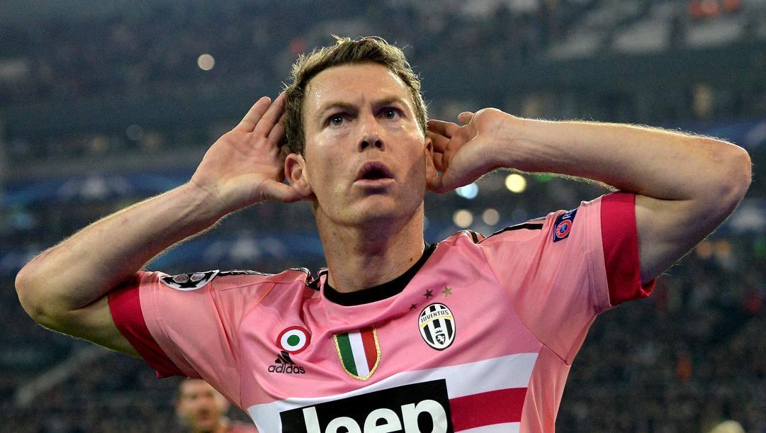 Stephan Lichtsteiner, 7 stagioni alla Juve. Getty