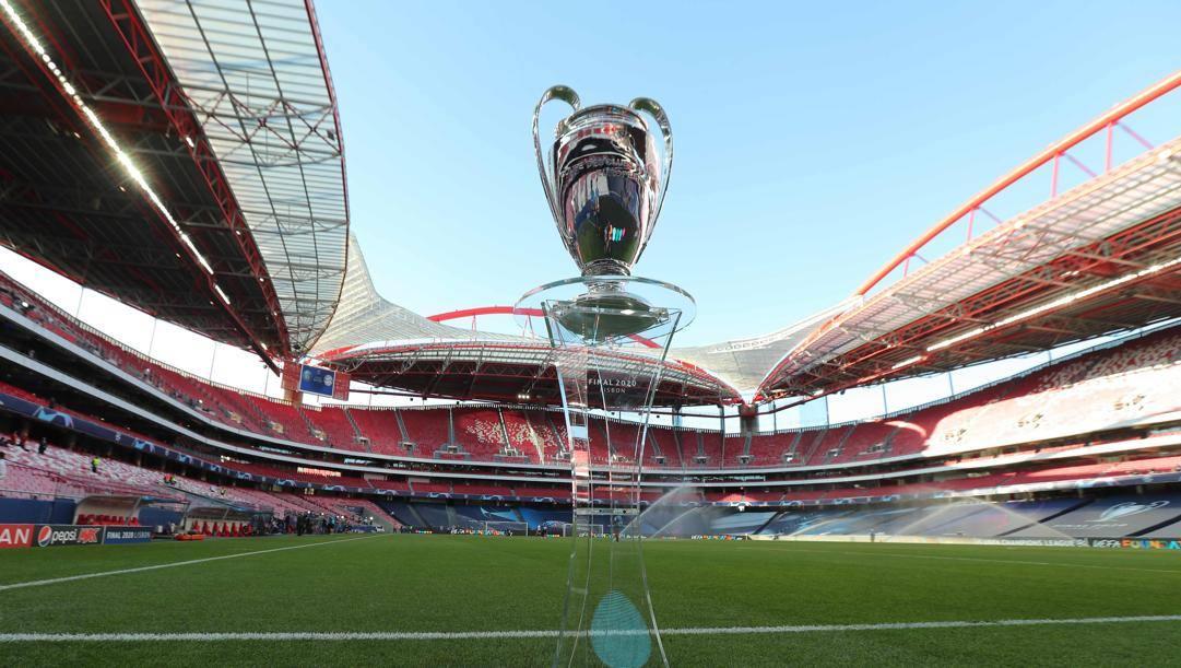 L'ultima Champions League, assegnata a Lisbona. Afp