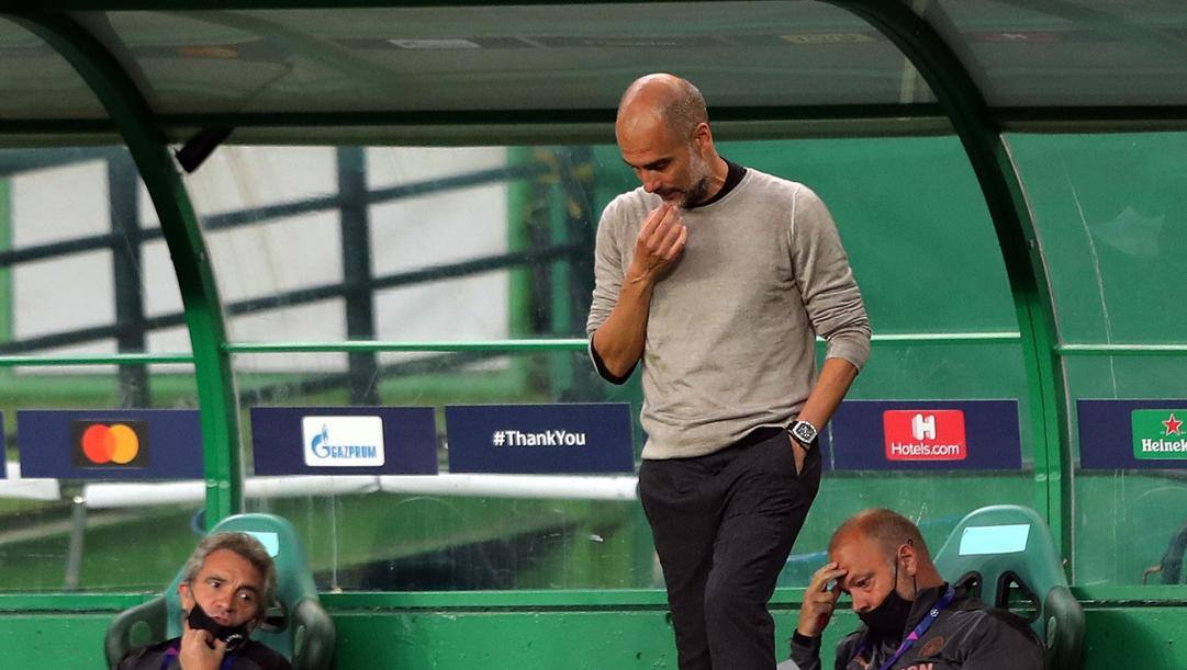 Pep Guardiola. Afp