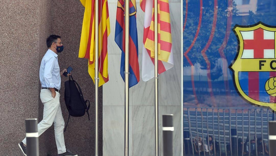 Il presidente del Barcellona Bartomeu