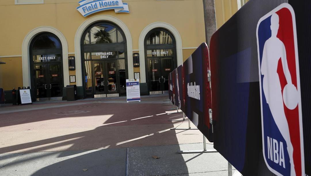 L'HP Field House, una delle arene Nba a Disney World. Epa