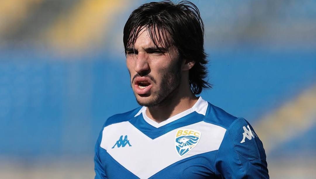 Sandro Tonali. Getty